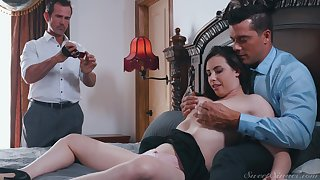 Casey Calvert pound and cum sprayed with her husband taking pictures