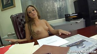 Lynn Love - An Office Job hardcore porn