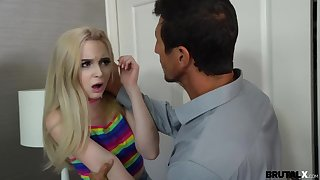 Brutal X - Lexi Lore - Fuck-schooled by horny stepdad