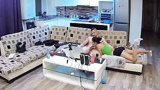 Maya and Victor Blowjob relative to cum connected with mouth